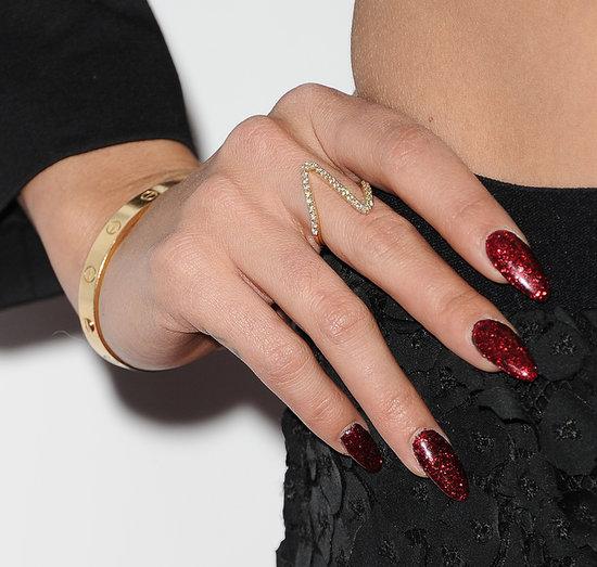 Celeb Beauty Vanessa Hudgens' Long Hair, Red Nails ... Vanessa Hudgens Nails