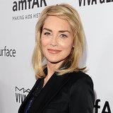 Celebrities At 2013 amfAR Inspiration Gala; Sharon Stone