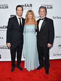 Oliver Hudson, Goldie Hawn, and Kurt Russell joined up at the event.