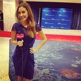 News editor Annie Gabillet was on the scene at the White House Correspondents' Dinner.