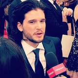 We caught up with Kit Harington at the Emmys.