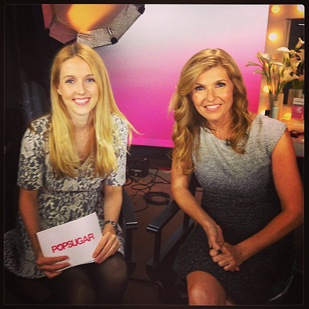 Connie Britton stopped to talk about her hit show Nashville.