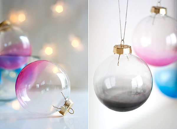 Ombré Ornaments