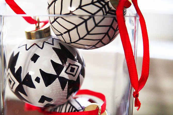 Sharpie Ornaments