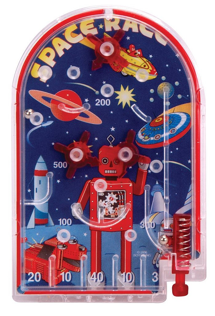 Space Race Pinball