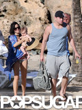 Channing Tatum, Jenna Dewan, and their daughter, Everly, had a family day at the beach in Puerto Rico.