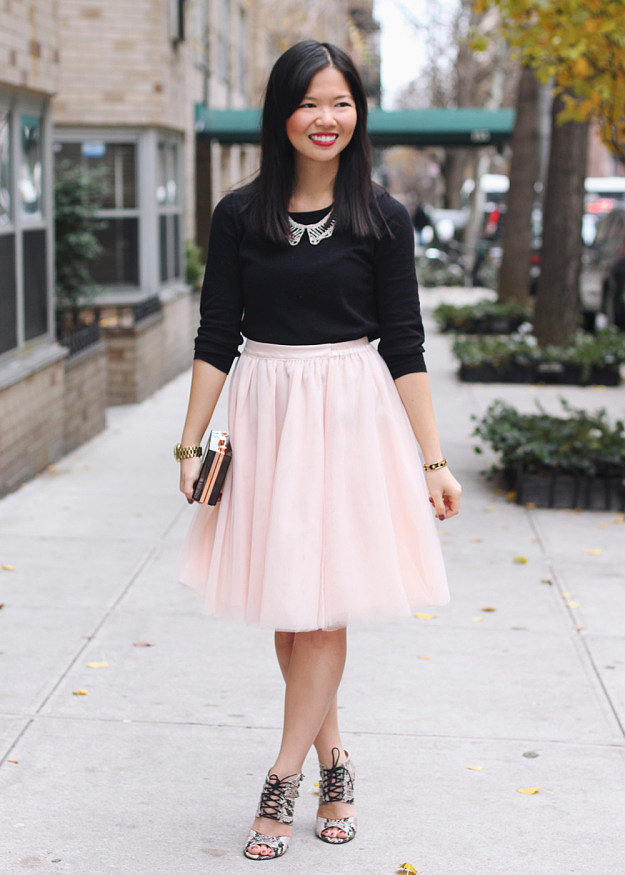 Congrats, skirttherules! Carrie Bradshaw isn't the only fashionista to rock a ballerina skirt.