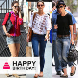 Chic, Sporty, or Sexy: Why Katie Holmes Is a Denim Chameleon