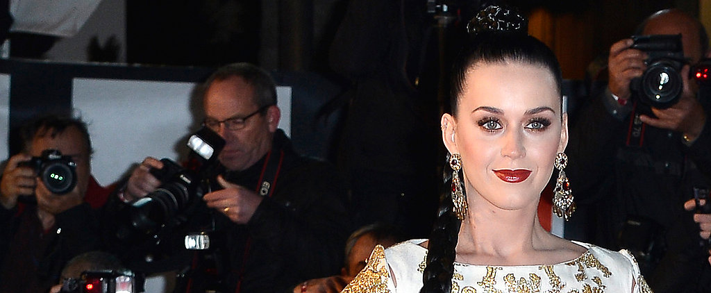Katy Perry Brings Her Pre-Grammys Glow to France
