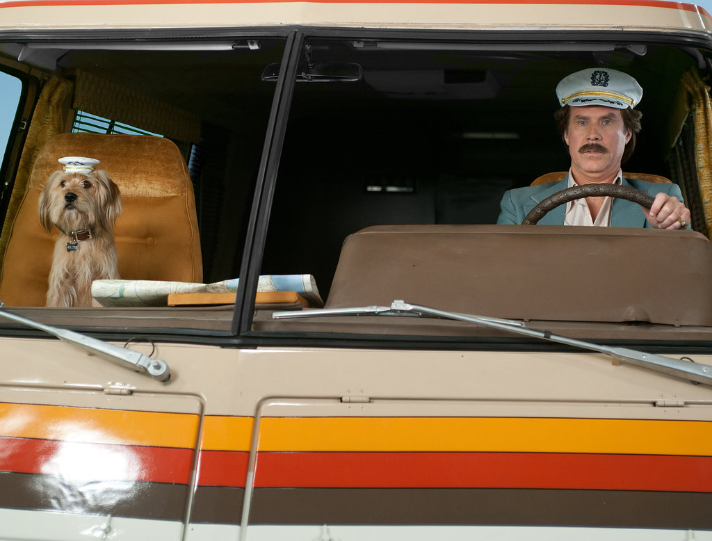 Ron and Baxter head out on the road.