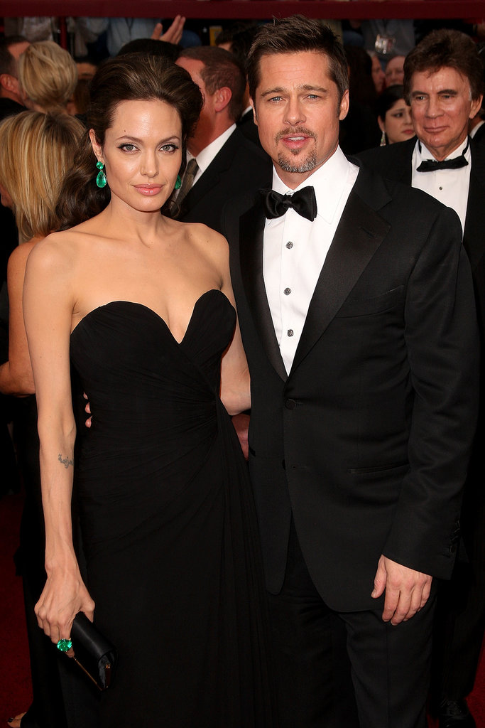 Brad Pitt and Angelina Jolie made a picture-perfect couple on the Oscars red carpet in February 2009.