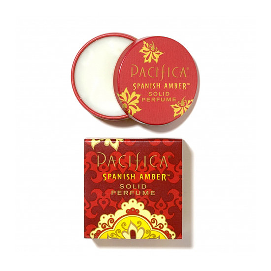 Avoid a spill in your bag with the Pacifica Spanish Amber Solid Perfume Tin ($9). The warm, sultry scent of sandalwood will get you in the mood (and last through whatever comes after that, too).