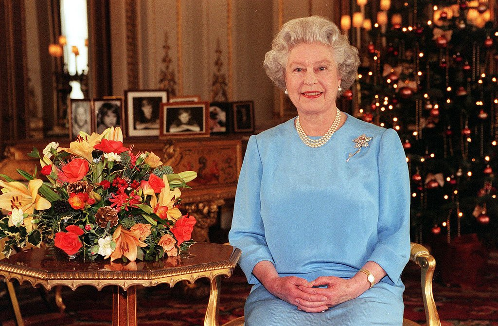 Queen Elizabeth II made her traditional broadcast in 1998.