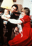 Princess Diana and Prince Charles played with little Prince William at Kensington Palace in December 1982.