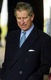 Prince Charles suited up for the Christmas Day church service in 2003.