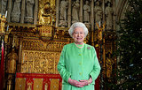 Queen Elizabeth II after filming the Christmas broadcast at Southwark Cathedral in 2006.