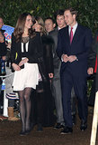 Prince William and his then-fiancée, Kate Middleton, stepped out for a Christmas reception in Fakenham, England, in December 2010.