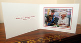 A 2012 royal Christmas card featured a photo of Prince Charles and Camilla, Duchess of Cornwall.