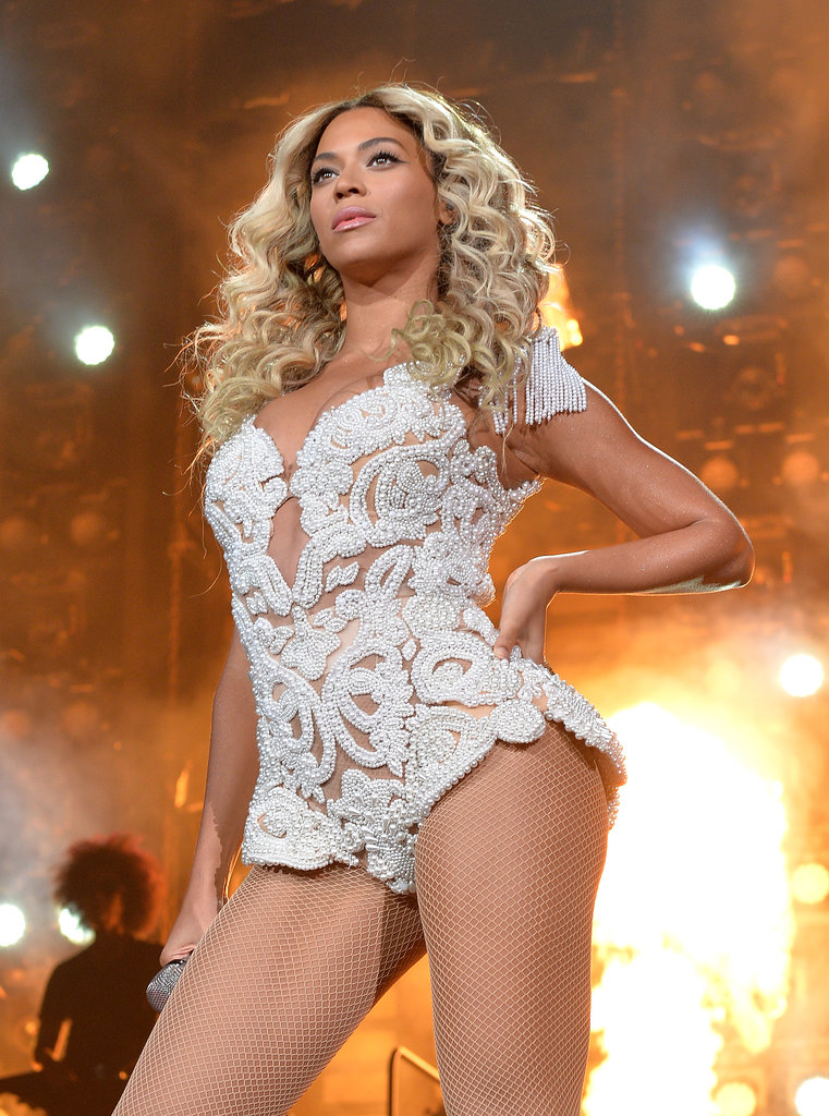 "December during her ""Mrs. Carter Show World Tour"" performance in LA."