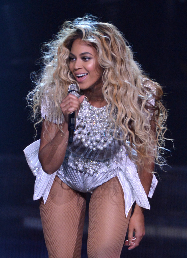 "June at the North American opening of ""The Mrs. Carter Show World Tour."""