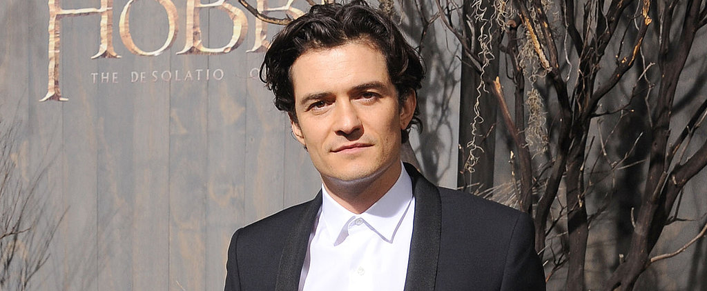 "Orlando Bloom Is ""So Comfortable"" With Being Naked"