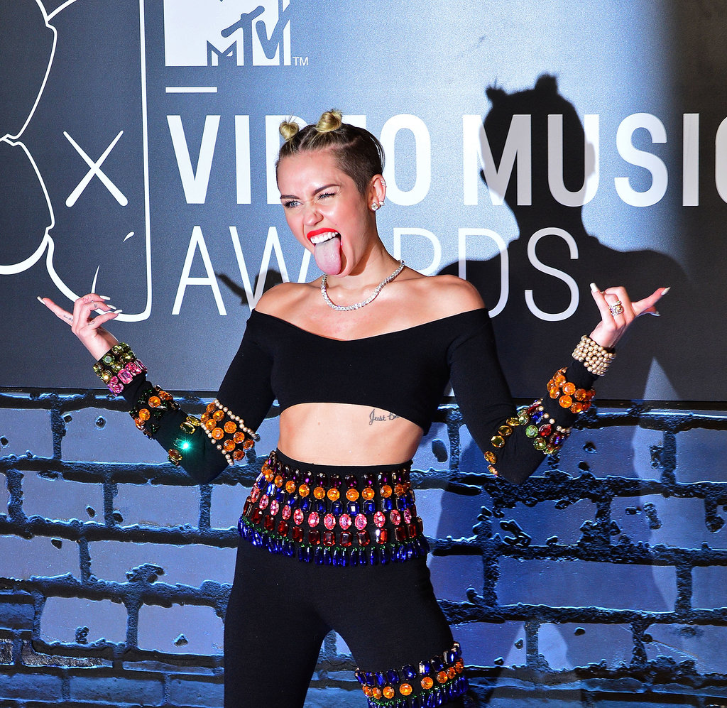 Miley's tongue took over the MTV Movie Awards red carpet in late August — but this was just the beginning of its night!