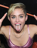 And tore it up at Miley's Bangerz album release party in NYC in October.