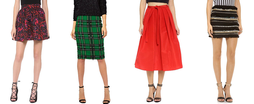 17 Skirts That'll Make You Feel Festive