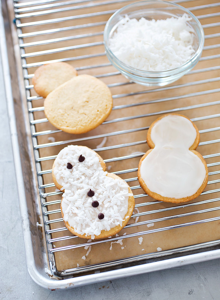 ridiculously adorable easy to make recipe for coconut snowmen cookies