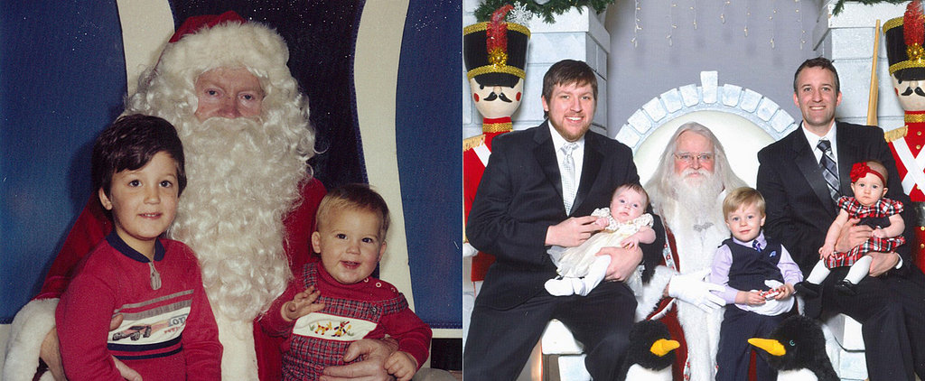 Must-See Pics: Brothers Continue 34-Year Streak of Sitting With Santa