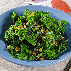 Cram Three Superfoods Into One Side Dish With This Healthy Kale Recipe