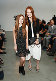 Julianne Moore brought her daughter, Liv, to New York Fashion Week in September.