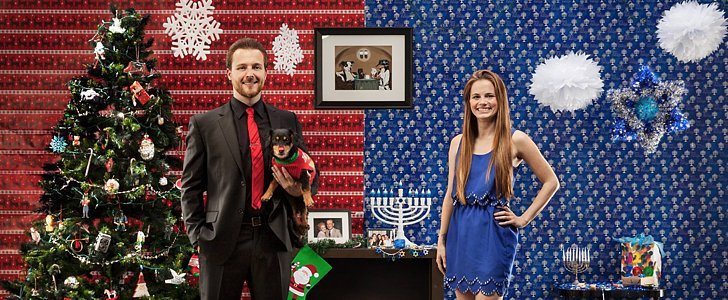 This Couple's Holiday Card Is Pure Genius