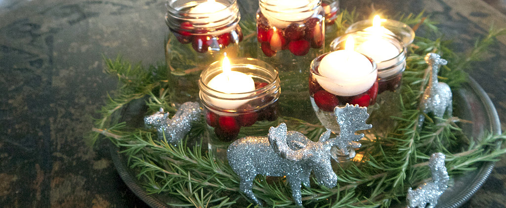 Dollar-Store DIY: Winter Wonderland Centerpiece