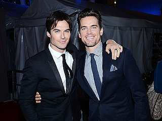 Matt Bomer and Ian Somerhalder Are Going Strong Without '50 Shades' (VIDEO)