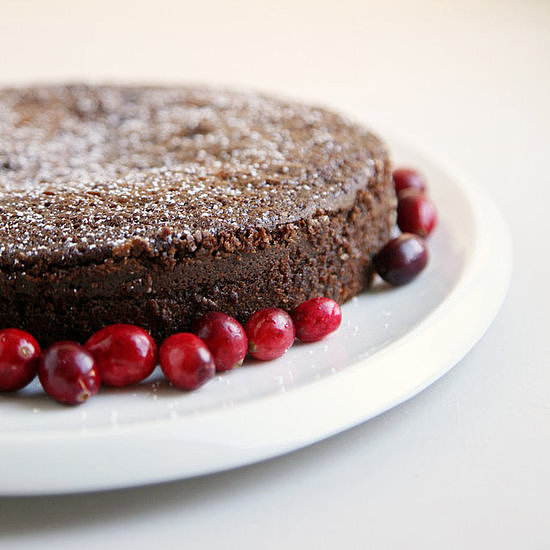 Cranberry Gingerbread Cake