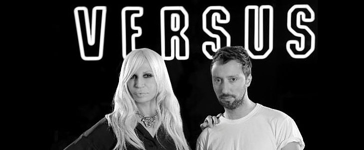 Donatella and Anthony Vaccarello Make a Versace Dream Team