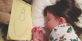 Meet Roozle, The Little Girl Who Draws Herself To Sleep