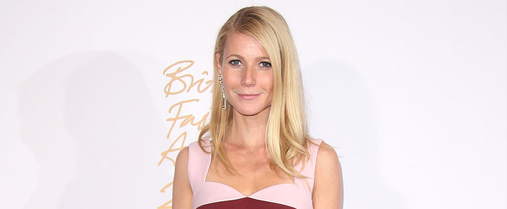 Gwyneth Paltrow Goes Without Makeup