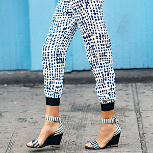 Scoop Up a Pair of Track Pants for Yourself, Then Look Incredibly Chic