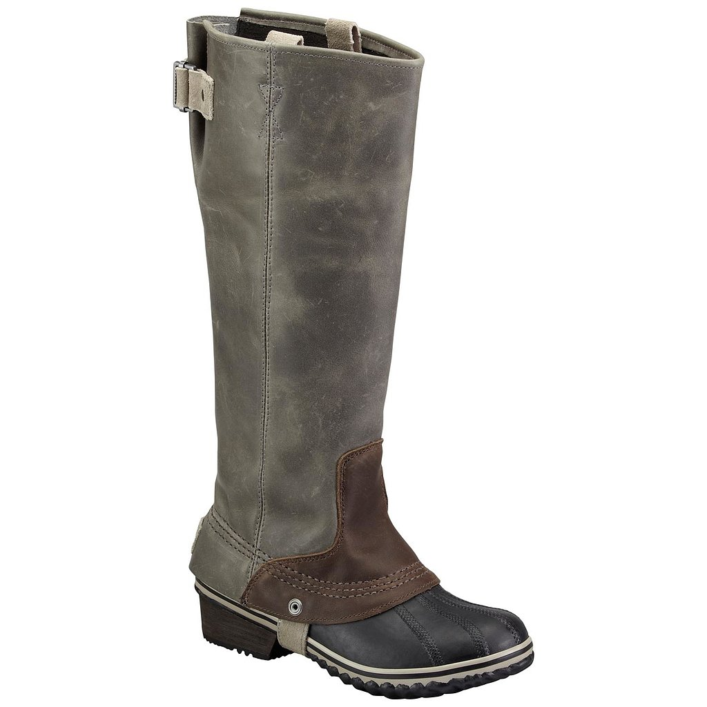 Don't believe for one second that boots have to be chunky and cumbersome to keep your feet and legs warm. This pair of Slimpack Riding Boots from Sorel ($210) has all the sleek appeal of a pair of stilettos a