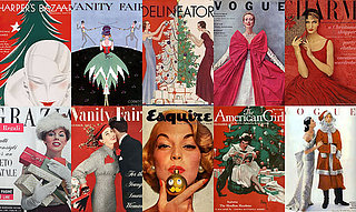 35 Stunning Holiday-Themed Magazine Covers from the Days of Yore