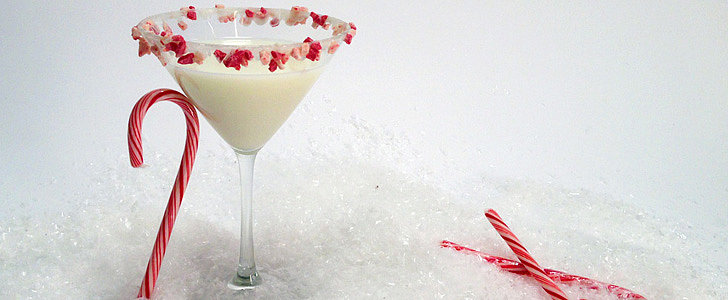 'Tis the Season For a Candy Cane Cocktail