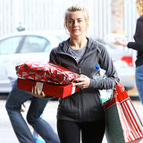 Celebs Who Packed in a Workout Before the Eggnog Toast!