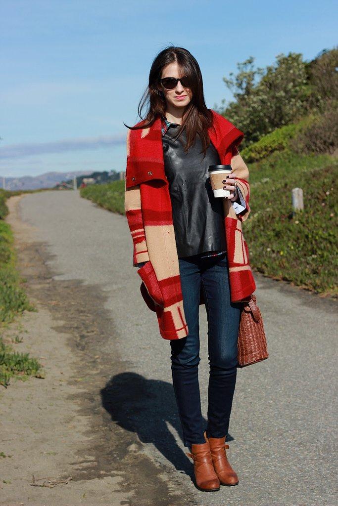 Congrats, PostGradChic! Blanket coats are a girl's best friend.