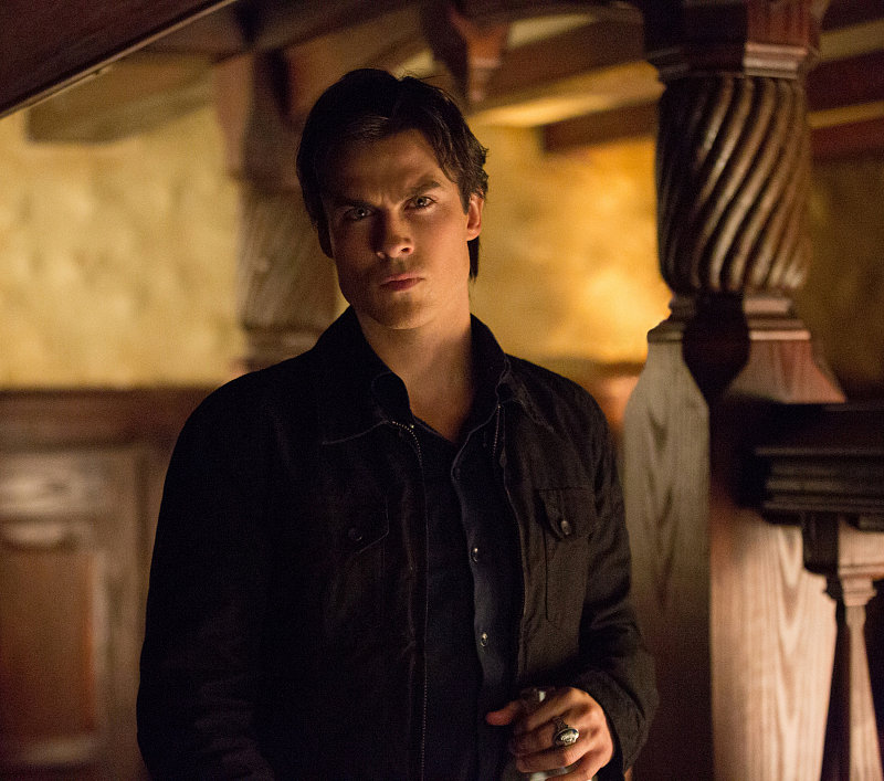 Damon on The Vampire Diaries