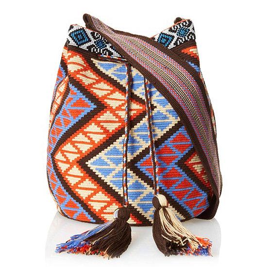 <b>Amelia Toro Geometric Printed Satchel Bag</b>