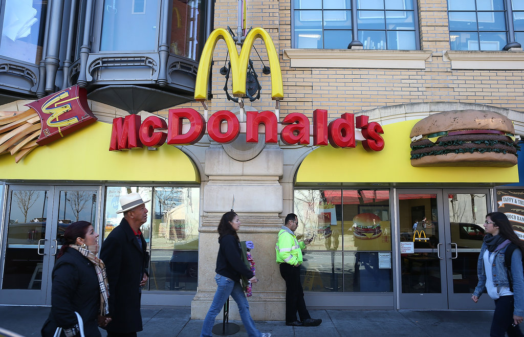 McDonald's Tells Employee to Sign Up For Food Stamps