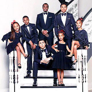 "Sean ""Diddy"" Combs Shares Family Christmas Card With His Six Kids"