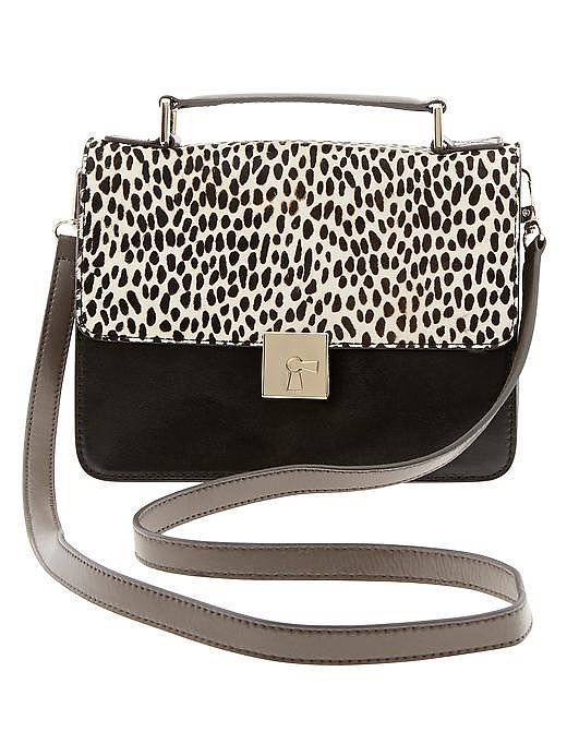Banana Republic Laurel Exotic Crossbody Satchel ($150)